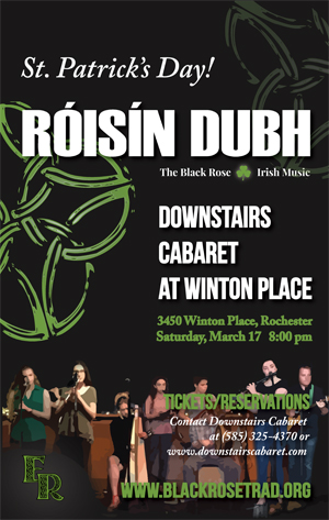 Roisin Dubh at DCT Poster